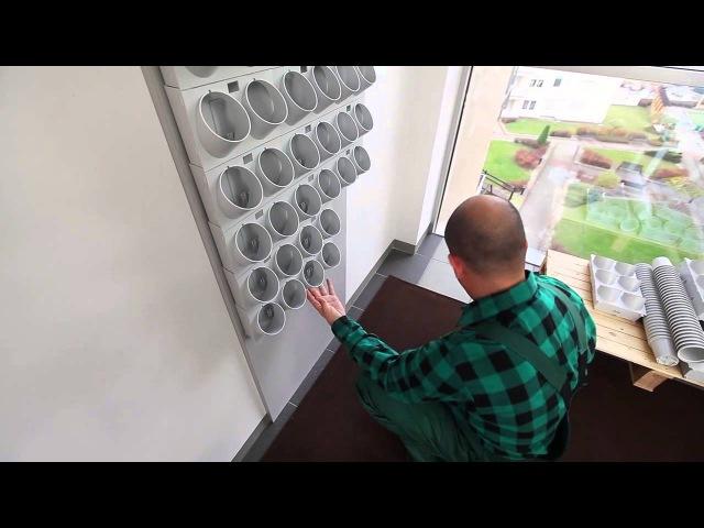 Pixel Garden Installation Indoors HD