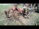 Как копать картошку трактором Т-25 Своими руками.