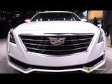 2017 Cadillac CT6 Plug-In-Hybrid - Exterior and Interior Walkaround - 2017 NY Auto Show