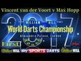 2017 William Hill World Darts Championship Vincent van der Voort v Max Hopp First Round
