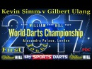2017 William Hill World Darts Championship Kevin Simm v Gilbert Ulang | Preliminary Round