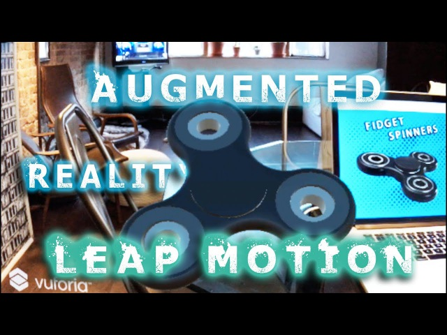 Augmented Reality Tutorial LEAP MOTION HAND TRACKING in ARVR with Unity Vuforia