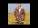 SUPERTANYA brown V neck long mohair cardigan