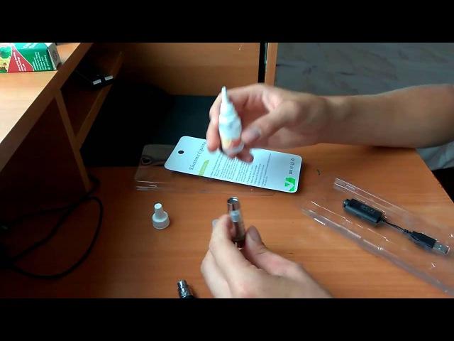 Обзор электро сигареты EGO CE4, как заправлять Стоит ли п ...