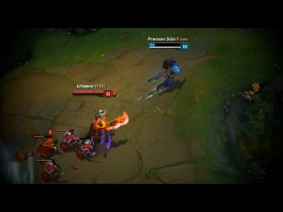 LoL Best Moments #159 Yasuo outplays Riven (League of Legends)