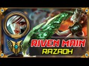 Riven Main - Best Riven Plays by Razaoh - Pro Outplays Compilation | League of Legends