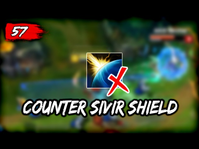 LoL Moments 57 - How to Counter Sivir Shield (League of Legends)