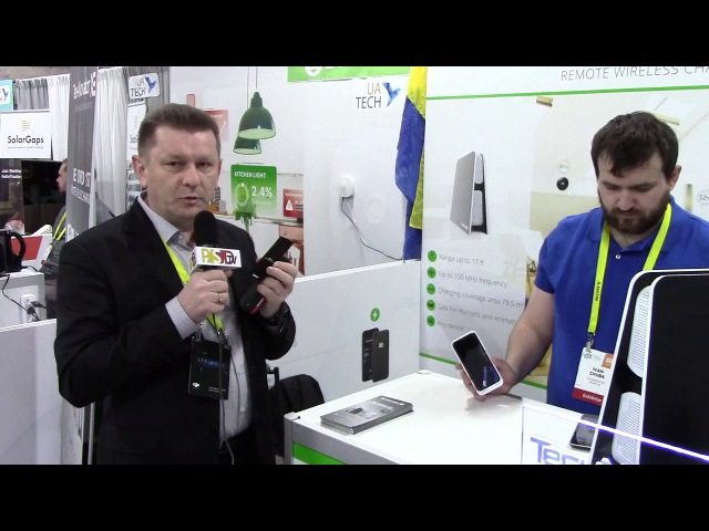 PSDtv - Technovator describes their household wireless charging system