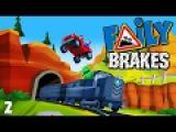 МАШИНКИ БЕЗ ТОРМОЗОВ Faily Brakes ГОНКИ с горы Игровой мультик про машинки веселое Ви ...