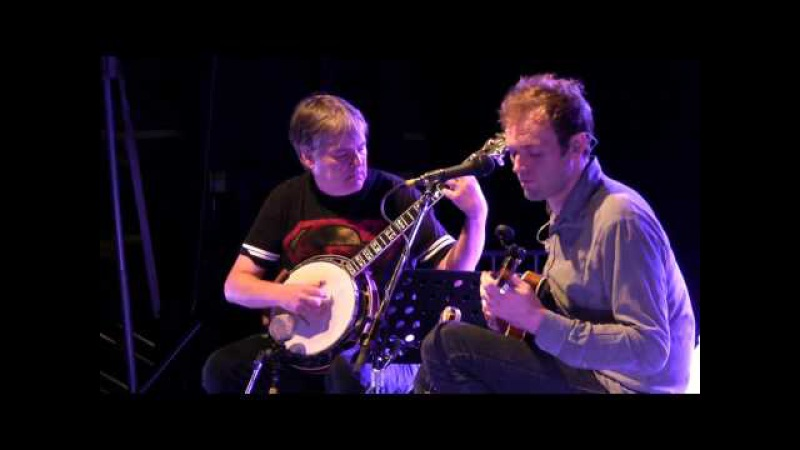Bela Fleck and Chris Thile Off the Top, Grey Fox 2016 Oak Hill, NY