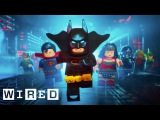 How They Animated The Lego Batman Movie | Design FX | WIRED