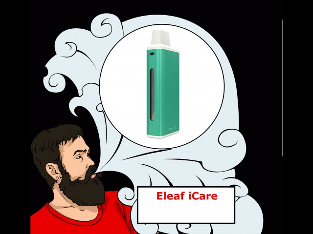 Vape обзор №139. Eleaf iCare Брелок в косметичку.