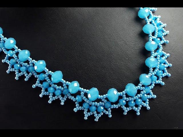 Kristal Kolye Kirpik Modeli Yapımı Sesli Anlatımlı