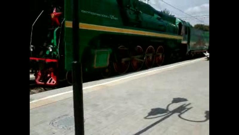 П36-0120 на Рижском вокзале