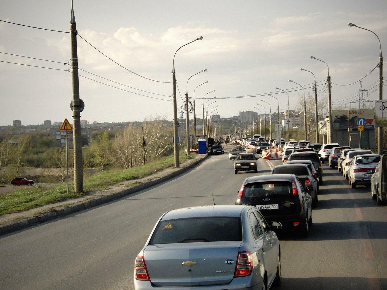схема кировского моста через самарку
