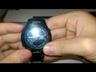 Обзор и настройка часов Casio Edifice EFA-131BK-1AVEF (Review)