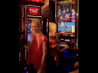 Had a great time hosting @TMZ_TV's launch of their new Slot Machines in Las Vegas. It was also fun meeting all the people who ca