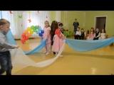 Очень красивый танец с тканью Утренник 8 Марта в детском саду Средняя группа