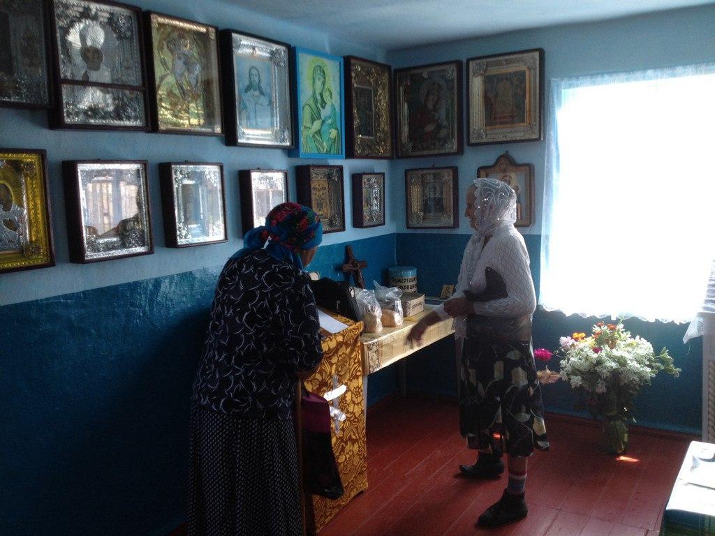 В хуторе Ново-Исправненском облагораживают молитвенный дом