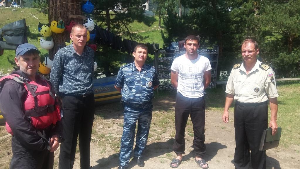 В Зеленчукском районе сотрудники МЧС проводят надзорно-профилактическую операцию «Рафтинг»