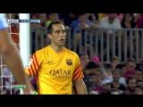 ЧИ 2015-16 | 2 тур | Барселона - Малага 1-0 | 1 тайм