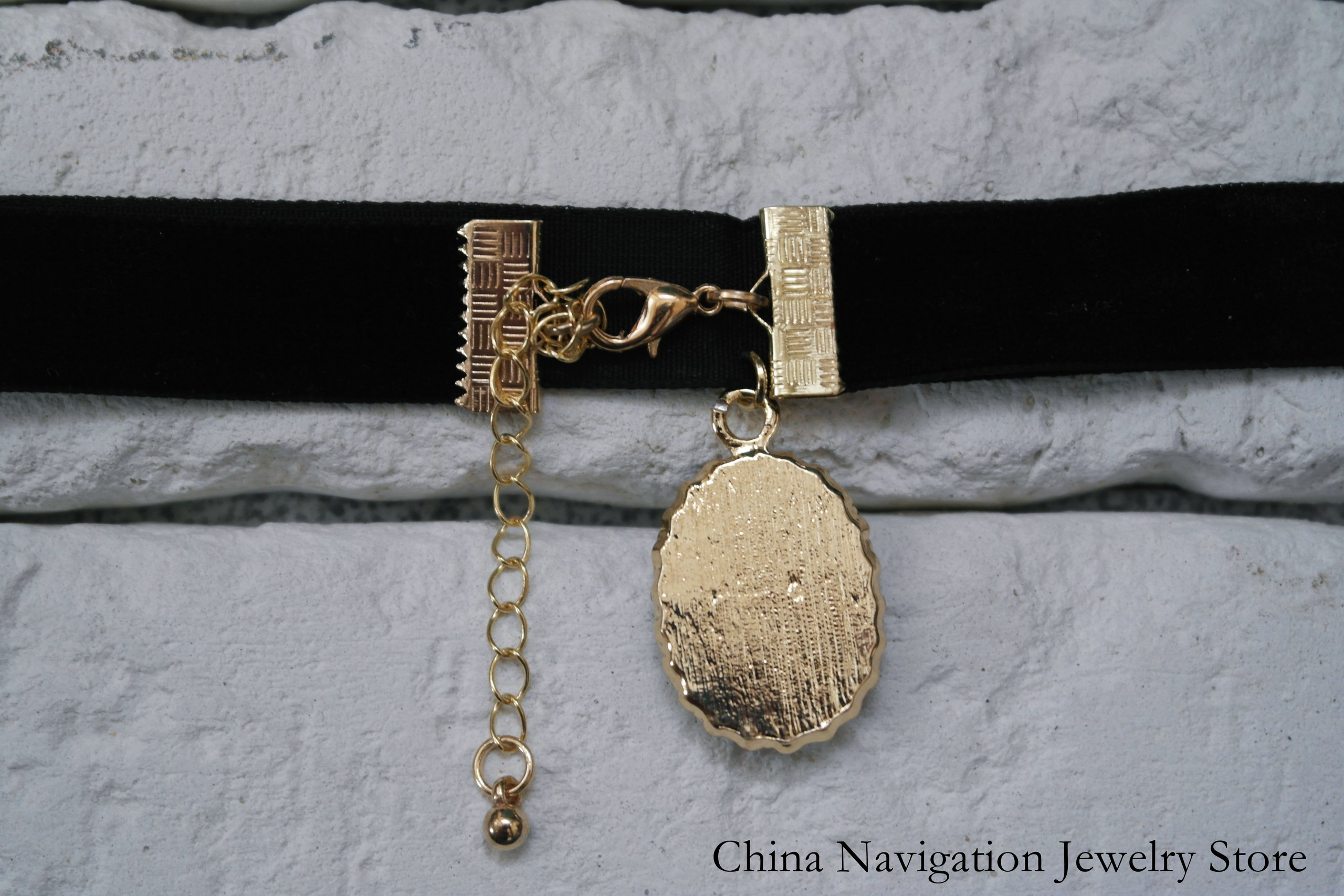 Чокер с камнем от China Navigation Jewelry Store