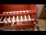 Детская кроватка-трансформер Мишутка 01