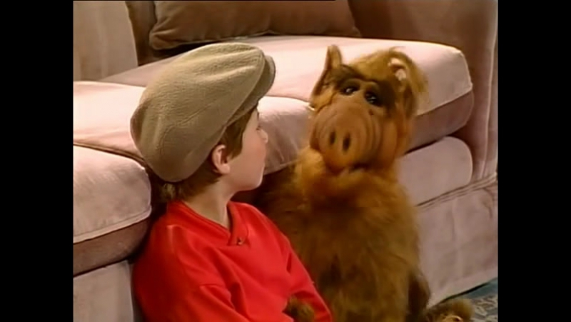 Alf Quote Season 1 Episode 1_Альф и тв