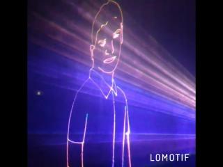 Фрагмент Лазерного шоу