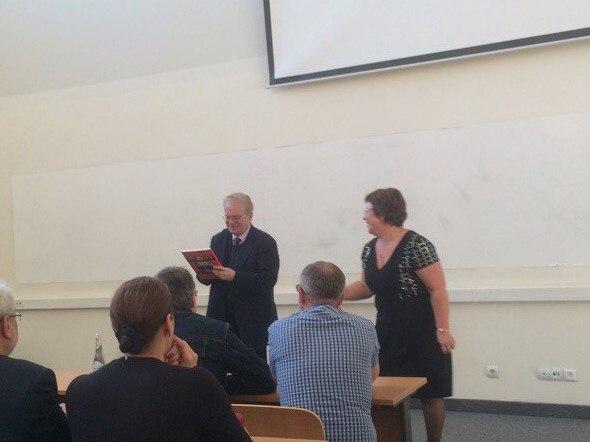 Статья о лекции Пиотровского в ДВФУ.
