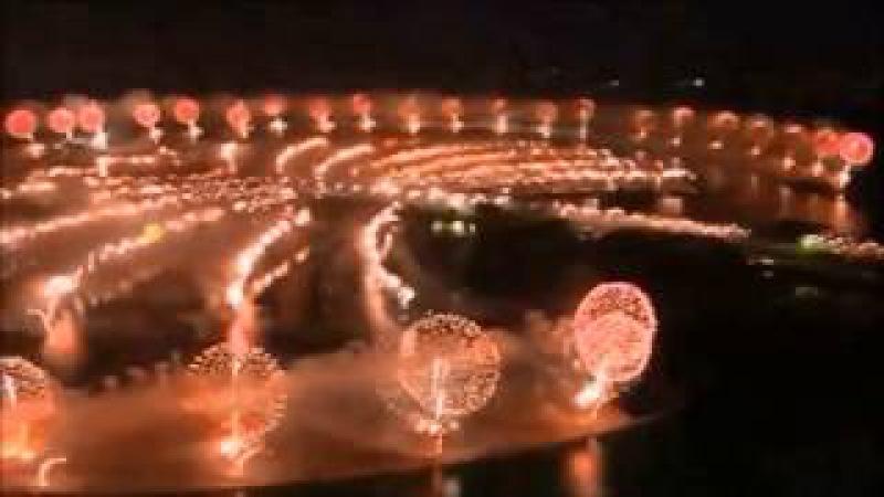 Jean Michel Jarre - Rendez-Vous 4 / Fireworks Dubai 2014 HD