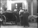 Отъезд Льва Толстого их Хамовников Москва 1908 год в Ясную Поляну Редкие кадры кинохроники