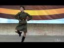 Военный танец Катюша сольный.