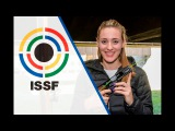 Interview with Anna KORAKAKI (GRE) - 2016 ISSF Rifle and Pistol World Cup Final in Bologna (ITA)