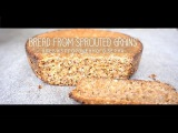 4KUltraHDХлеб из пророщенного зерна без мукиBread from sprouted grains without flour