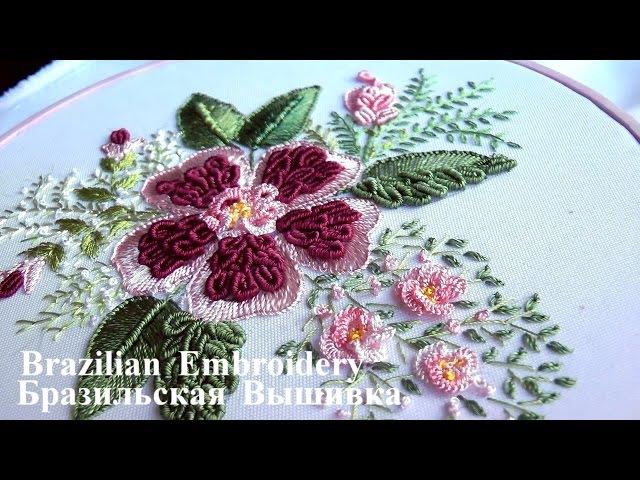 Brazilian Embroidery || Бразильская Вышивка