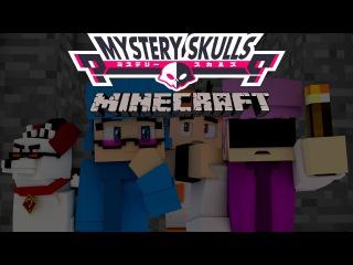 Minecraft Animation | Mystery skulls | Short parody