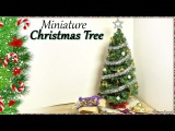 Miniature Christmas Tree - Doll Craft Tutorial