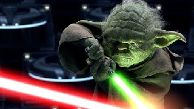 Йода против Палпатина (Дарта Сидиуса) - Звёздные войны. Эпизод 3: Месть ситхов