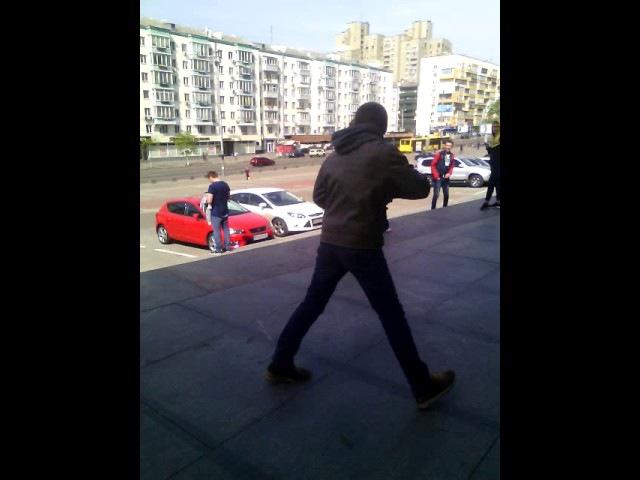 Бухой VJlink на киевском мэйджоре