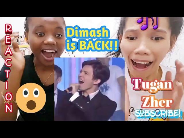 Bestfriend's REACTION!Dimash Kudaibergen singing Tughan Zher/My Homeland