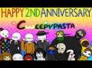 Cweepypasta - Счастливой 2-ой годовщины! Озвучка Хороми и Кохэйри