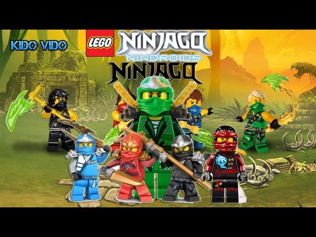 Лего ниндзя го мастера кружитцу. Бой ниндзя в лесу. Прохождение детской игры про ...
