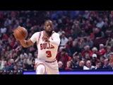 Dwyane Wade's Terrific Fourth Quarter  Pelicans vs Bulls  January 14, 2017  2016-17 NBA Season
