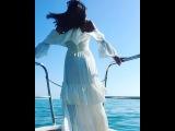 Ведущая Дом 2 Ольга Бузова наслаждается прогулкой на яхте