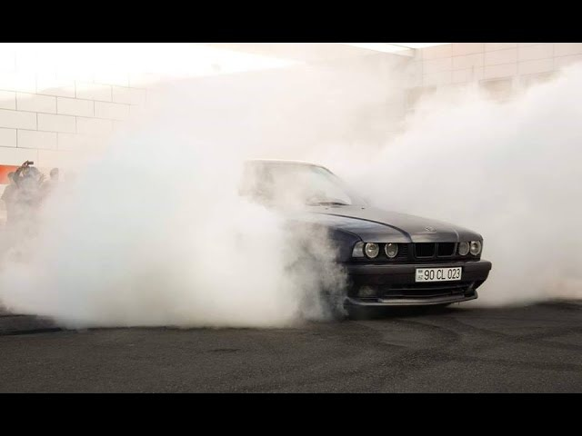 Elvin 023 BMW E34 Legal Street Drift 2017