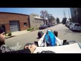 Getting a Ticket in an Indy Car  Donut Daze 002