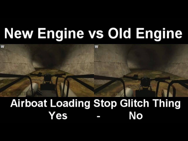 Half-Life 2 Speedrunning New Engine vs Old Engine comparison
