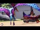 Амфибии против Птерозавров Jurassic World The Game прохождение на русском