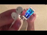 В Сети появилось первое видео с фирменными Lightning-наушниками EarPods для iPhone 7